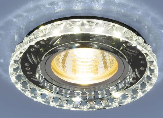 Фото - Встраиваемый светильник Elektrostandard 8351 MR16 CL/BK прозрачный/черный 4690389098376 cветильник галогенный de fran встраиваемый 1х50вт mr16 ip20 зел античное золото
