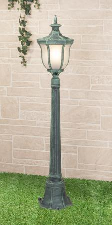 Уличный светильник Elektrostandard Taurus F малахит 4690389065033 elektrostandard настенный светильник elektrostandard taurus u малахит арт glxt 1458u 4690389065118