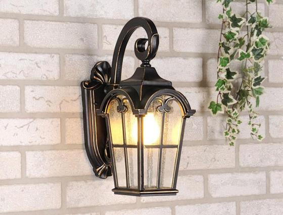 Уличный настенный светильник Elektrostandard Mira 4690389017377 уличный светильник elektrostandard mira u настенный черный