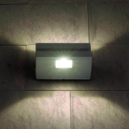 Уличный настенный светодиодный светильник Elektrostandard 1611 Techno LED Nerey серый 4690389086151 elektrostandard лампа светодиодная elektrostandard свеча на ветру сdw led d 6w 3300k e14 4690389085505