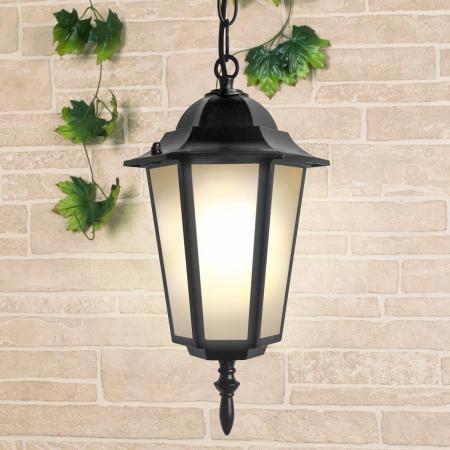 Уличный подвесной светильник Elektrostandard 1004H черный 4690389085710 elektrostandard gl 1004h черный