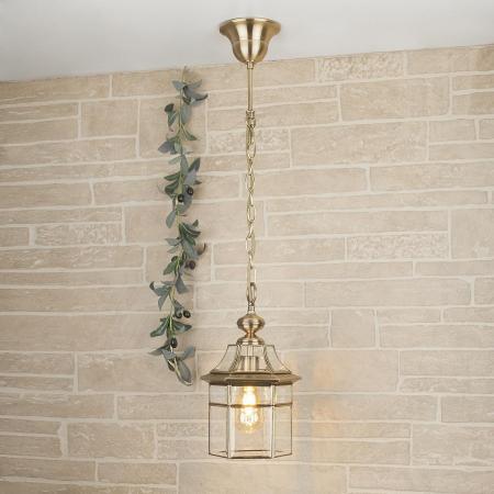 Уличный подвесной светильник Elektrostandard 1031 Savoie H медь 4690389099168