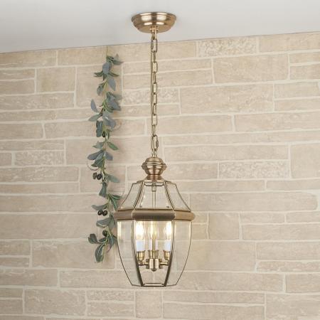 Уличный подвесной светильник Elektrostandard 1032 Chatel H медь 4690389099144