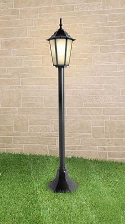 Уличный светильник Elektrostandard 1014F черный 4690389085772 уличный светильник 1001s черный 4690389076053 elektrostandard 1168537