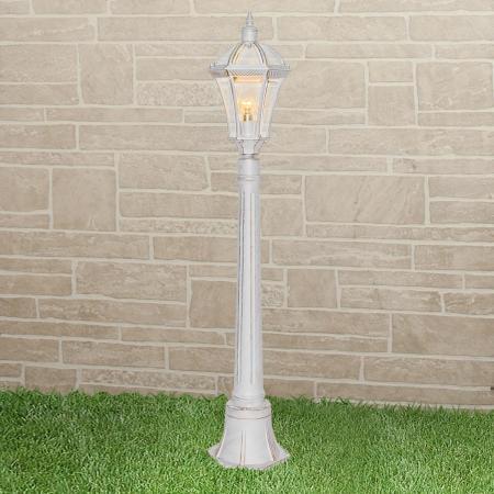 Уличный светильник Elektrostandard Capella F белое золото 4690389104305 цена