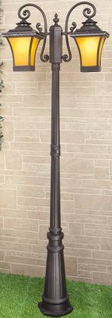 Садово-парковый светильник Elektrostandard Libra F/2 венге 4690389064753 keneksi libra 2