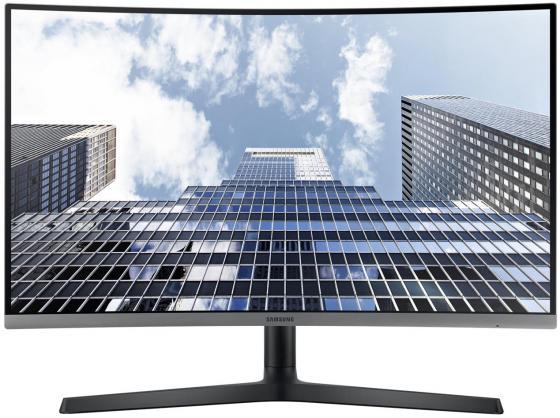 """Монитор 27"""" Samsung C27H800FCI черный VA 1920x1080 200 cd/m^2 5 ms HDMI DisplayPort USB монитор samsung 23 5"""