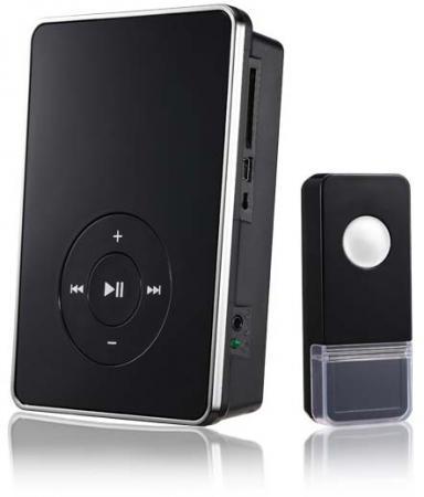 Звонок дверной беспроводной Elektrostandard черный светодиодный беспроводной перезвон дверной звонок дверной звонок