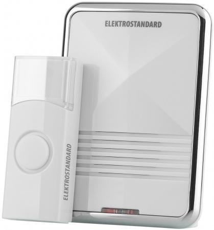 Звонок дверной беспроводной Elektrostandard DBQ01M WL белый 4690389031182 звонок дверной luazon беспроводной 1010791