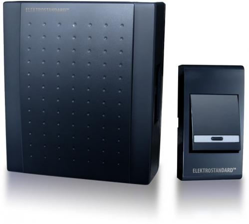 Электрозвонок проводной Elektrostandard DBQ16 WM 1M IP44 (4690389062049) черный