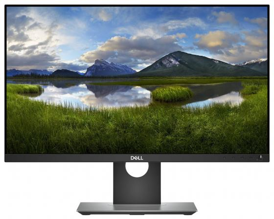 Монитор DELL P2418D черный IPS 2560x1440 300 cd/m^2 8 ms HDMI DisplayPort USB 2418-7100 монитор 25 dell up2516d черный ah ips 2560x1440 300 cd m^2 6 ms hdmi displayport mini displayport аудио usb
