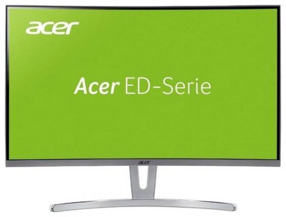 Монитор 32 Acer ED322Qwmidx белый VA 1920x1080 250 cd/m^2 4 ms DVI HDMI VGA UM.JE2EE.009 21 5 asus vs229ha va 1920x1080 250 cd m^2 5 ms dvi hdmi vga 90lme9001q02231c