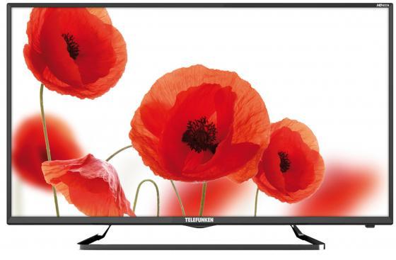 Телевизор LED 39 Telefunken TF-LED39S52T2 черный 1366x768 50 Гц USB SCART VGA S/PDIF телевизор led 32 lg 32lx341c черный 1920x1080 50 гц scart vga s pdif usb