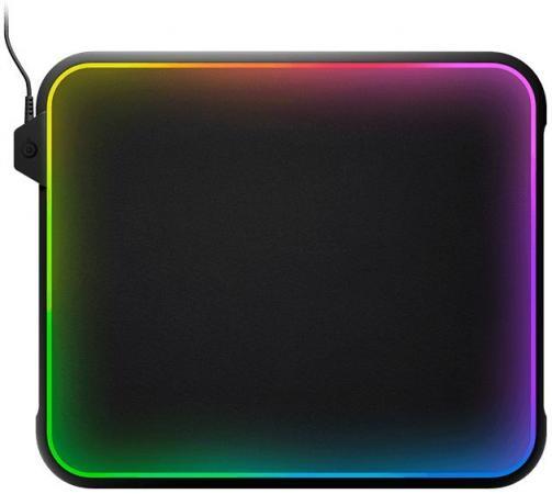лучшая цена Коврик для мыши Steelseries QcK Prism черный 63391