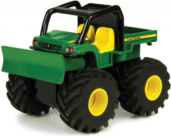 Будьдозер Tomy Monster Treads 37650-3 разноцветный машина tomy john deere monster treads 37650 1