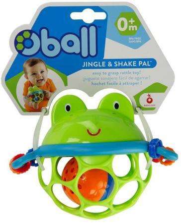 Игрушка для ванны Oball Лягушонок 10063 игрушки для ванной oball игрушка для ванны уточка желтая