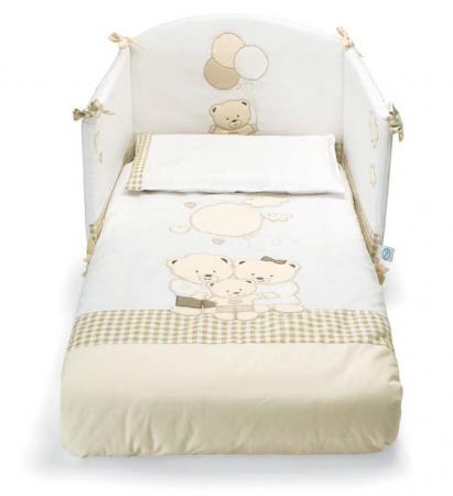Комплект постельного белья 3 предмета Pali Chic (белый) cloud factory комплект постельного белья 3 предмета рыбы