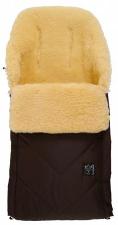 Конверт меховой Kaiser Dublas (brown) конверт детский kaiser kaiser конверт зимний меховой lenny terra оранжевый