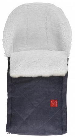 Конверт меховой Kaiser Dublas (navy melange+natural white) конверт меховой kaiser coosy rot