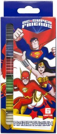 Пластилин Action! DC Comics 6 цветов DC-AMC6-120 neca dc comics batman superman the joker pvc action figure collectible toy 7 18cm
