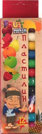 Пластилин Action! Fruit Ninja 12 цветов FN-MC12-120