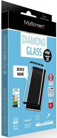 Защитное стекло прозрачная Lamel MyScreen 3D DIAMOND Glass EA Kit Black для iPhone 6 iPhone 6S 0.33 мм защитное стекло прозрачная lamel myscreen 3d diamond glass ea kit white для iphone 6 plus iphone 6s plus 0 33 мм