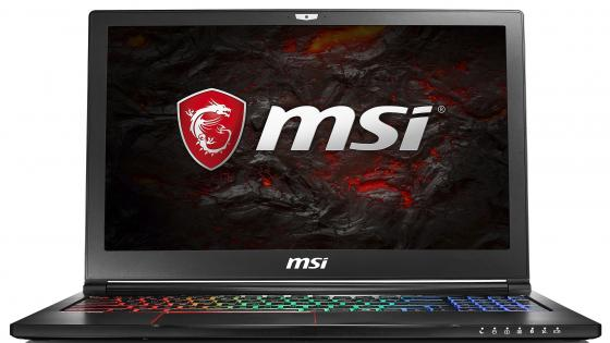 Ноутбук MSI GS63 7RE-045RU Stealth Pro 15.6 1920x1080 Intel Core i7-7700HQ 1 Tb 128 Gb 8Gb nVidia GeForce GTX 1050Ti 4096 Мб черный Windows 10 Home 9S7-16K412-045 ноутбук msi gs43vr 7re 094ru phantom pro 14 1920x1080 intel core i5 7300hq 1 tb 128 gb 16gb nvidia geforce gtx 1060 6144 мб черный windows 10 home 9s7 14a332 094