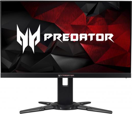 "Монитор 25"" Acer Predator XB252Qbmiprzx черный TN 1920x1080 400 cd/m^2 1 ms HDMI DisplayPort USB UM.KX2EE.001 монитор жк acer predator xb281hkbmiprz 28"