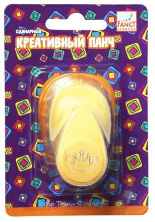 купить Фигурный дырокол Fancy Creative Корона по цене 100 рублей