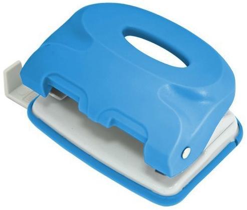 Дырокол Index Colourplay 10 листов неоновый голубой ICP110/BU блокнот index in0103 a550 a5 50 листов в ассортименте