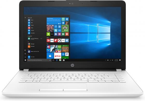 Ноутбук HP 14-bs012ur 14 1366x768 Intel Pentium-N3710 500 Gb 4Gb Intel HD Graphics 405 белый Windows 10 Home 1ZJ57EA ноутбук hp 15 bs509ur 15 6 1920x1080 intel pentium n3710 2fq64ea