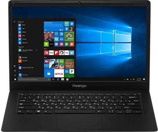 Фото - Ноутбук Prestigio Smartbook 141C 14.1 1920x1080 Intel Atom-x5-Z8350 32 Gb 2Gb Intel HD Graphics 400 черный Windows 10 PSB141C01BFH_BK_CIS ноутбук prestigio smartbook 133s 13 3 1920x1080 intel celeron n3350 32 gb 3gb intel hd graphics 500 коричневый windows 10 home gppsb133s01zfp dg cis