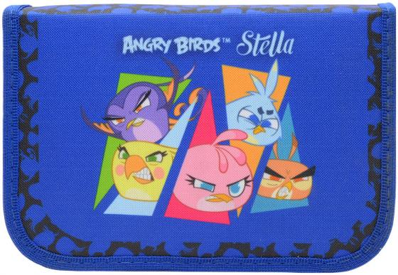 Пенал на одно отделение Action! Stella by Angry Birds SA-APC4201/1 в ассортименте пенал на одно отделение action novi stars ns apc4201 1 ns apc4201 1