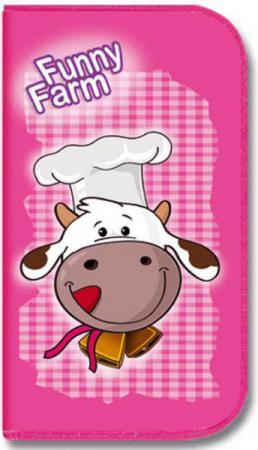 Пенал на одно отделение Оникс Веселая коровка ПК3-20/5015 вафли дымка веселая коровка сметанный крем 150г