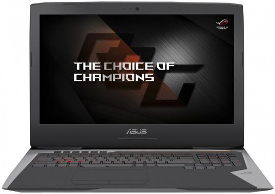 Ноутбук ASUS ROG G752VS-GB496T 17.3 3840x2160 Intel Core i7-7820HK 2 Tb 512 Gb 64Gb nVidia GeForce GTX 1070 8192 Мб серебристый Windows 10 Home 90NB0D71-M07090 ботинки meindl meindl ohio 2 gtx® женские