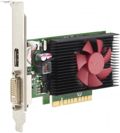 Видеокарта HP GeForce GT 730 Z9H51AA PCI-E 2048Mb 64 Bit Retail видеокарта gigabyte geforce gt 730 gv n730d5 2gl pci e 2048mb 64 bit retail