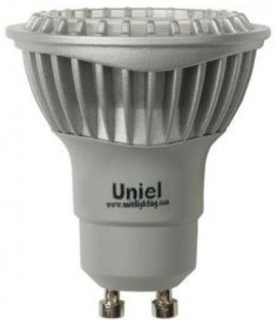 Лампа светодиодная (07250) GU10 5W 3000K JCDR LED-JCDR-5W/WW/GU10/FR лампа светодиодная gu10 4w 6500k полусфера матовая std jcdr 4w gu10 fr cw 3579