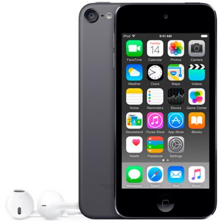 Плеер Apple iPod touch 128Gb MKWU2RU/A серый mp3 плеер cowon plenue 1 128gb gold