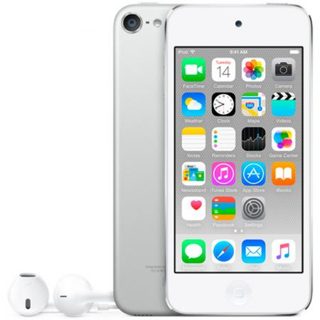 Плеер Apple iPod touch 128Gb MKWR2RU/A серебристый плеер apple ipod shuffle 4 2gb space grey