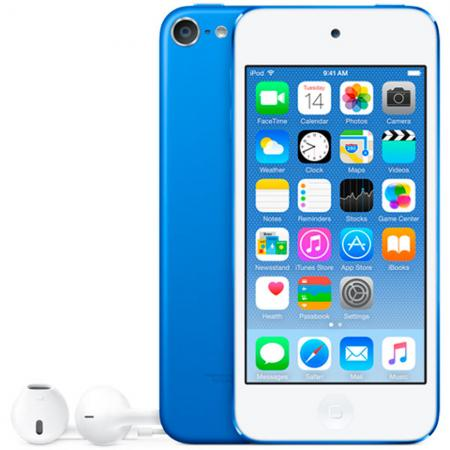 Плеер Apple iPod touch 128Gb MKWP2RU/A синий цена