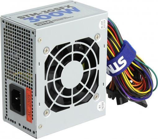 Блок питания SFX 300 Вт STM STM-SFX30 блок питания stm electronics 500w 50shb silver