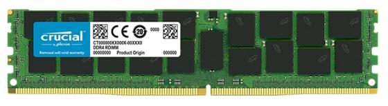 Оперативная память 16Gb (1x16Gb) PC4-21300 2666MHz DDR4 DIMM ECC Registered CL19 Crucial CT16G4RFD4266 оперативная память 16gb 1x16gb pc4 21300 2666mhz ddr4 dimm ecc registered cl19 crucial ct16g4rfs4266