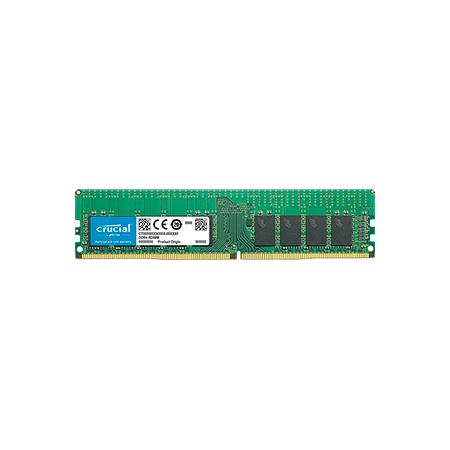 Оперативная память 16Gb (1x16Gb) PC4-21300 2666MHz DDR4 DIMM ECC Registered CL19 Crucial CT16G4RFD8266 оперативная память 16gb 1x16gb pc4 21300 2666mhz ddr4 dimm ecc registered cl19 crucial ct16g4rfs4266