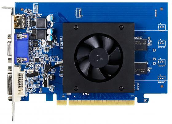 Видеокарта 1024Mb Gigabyte GT710 PCI-E GDDR5 64bit HDMI DVI VGA GV-N710D5-1GI Retail