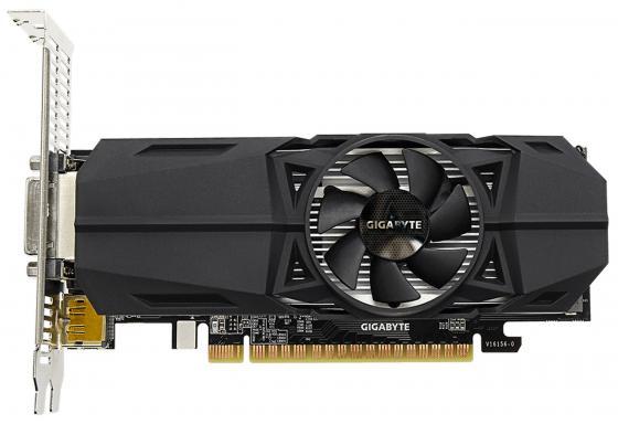 Видеокарта GigaByte GeForce GTX 1050 GV-N1050-2GL PCI-E 2048Mb 128 Bit Retail видеокарта gigabyte geforce gt710 2gb gddr5