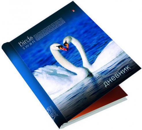 Дневник для старших классов Альт Птицы. Лебеди линейка гребень 10-134/38 альт дневник школьный альт кеды серый