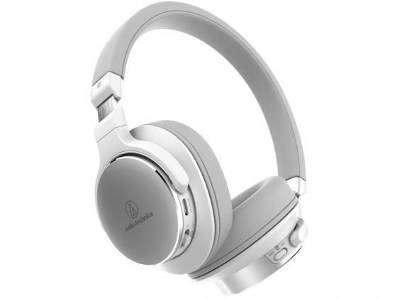 Гарнитура Audio-Technica ATH-SR5BT белый гарнитура audio technica ath ckl220is wh белые