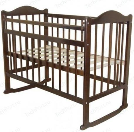 Кроватка-качалка Briciola 1 (орех)