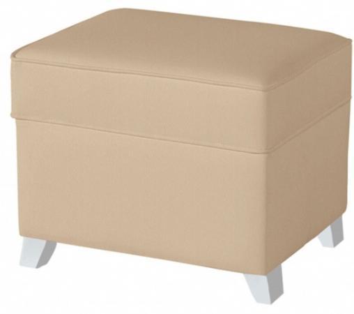 Пуф для кресла-качалки Micuna Foot Rest (искусственная кожа/ white/beige) кресла качалки шезлонги tiny love люлька баунсер люкс