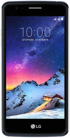 Смартфон LG K8 2017 черный синий 5 16 Гб LTE Wi-Fi GPS 3G LGX240.ACISGK